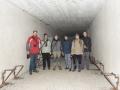 Podzemíčko a účastníci zájezdu. Fort Tillot, Toul