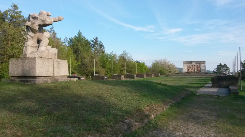 Památník SNP na vrchu ROH