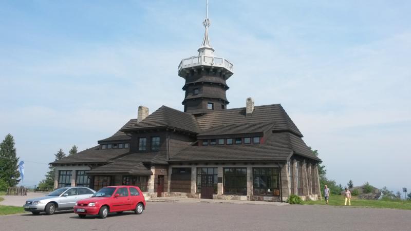 Jiráskova chata u Dobrošova