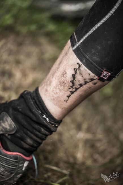 Tentokrát se tetování obzvlášť povedlo. Fotil Štěpán Stránský, Flukeatelier.