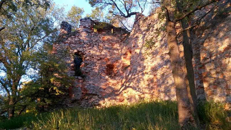 Zřícenina hradu Pajštún