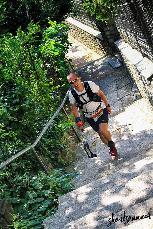 Prý poslední kopec, schody k Bratislavskému hradu. Fotil shortsrunner (fb).